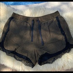Zara Shorts with Drawstring/Lace details